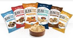 "Beanitos, ""The Original Bean Chip"" is based in Austin. Sold nationwide, these all natural chips are gluten free, high fiber and made with no preservatives."