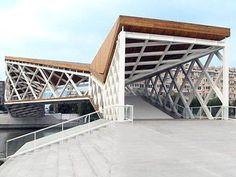 Beautiful Chinese Pedestrian Bridge