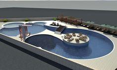 "Swiming Pool Complex ""Sicily"" - Read more http://www.etapaproekt.com/portfolio/sport-leisure/swiming-pool-complex-sicily/ #architecture #pool #swimmingpool #etapaproekt #sicily"
