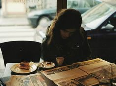 """""""alone in a cafe for the afternoon"""" - Stretch a moment in to an afternoon! 