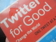 Tweeting can be good for you
