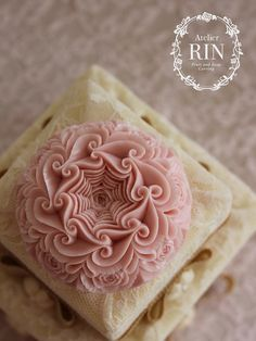 Landscape Kuririn Heart's soap carving