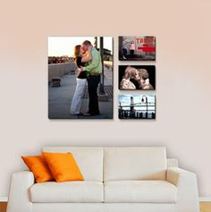Canvas Wall Displays. Now I just need some good photos to use