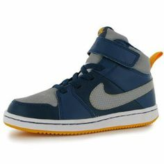 Nike Backboard 2 Mid Childrens Hi Top Trainers - SportsDirect.com