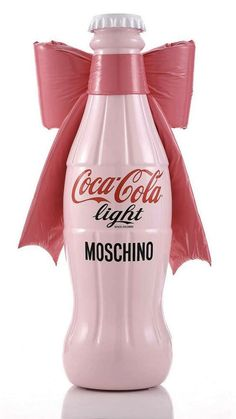 "Coca-Colas ""Tribute to Fashion"" charity project. A limited edition range designed by some of Italy's best known fashion designers e.g. Moschino, Versace, Bluemarine and Etro."