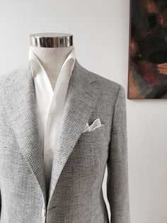 Discover Iconic Bespoke Menswear Creations at Magnus & Novus. Blazer Outfits Men, Outfits Fo, Bespoke Suit, Bespoke Tailoring, Suit Fashion, Mens Fashion, Summer Business Attire, Winter Outfits Men, Men Looks