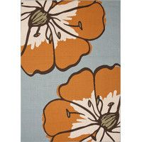 Bloom Indoor/Outdoor Rug in Orange