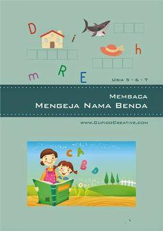 jual buku anak, belajar mengeja untuk anak SD, buku baca-tulis menyusun huruf dengan gambar