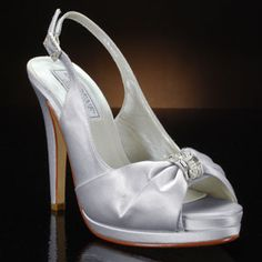 LIZ RENE DANIELLE-776 Wedding Shoes and DANIELLE-776 Dyeable Bridal Shoes WHITE, IVORY