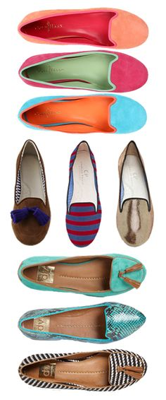 College Prep: Loafers  (My current obsession.)