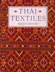 ~Thai Textiles - Comprehensive and fully illustrated book on Thai textile art… Textiles, Textile Prints, Textile Design, Textile Art, Culture Of Thailand, Thailand Art, Thai Decor, Miss And Ms, Thai Design