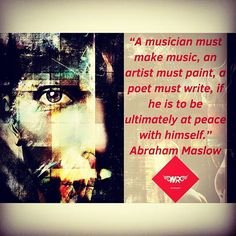 """Abraham Maslow #quotes regarding #musician #music #artist #painting #poet #writers #ultimately be at #peaceofmind ... #michaelrullo #rulloism #gotenoughbook #instalove #instalike #instadaily #like4like #likeforlike #follow4follow #followforfollow #staystrong #weekend #thursday #fit #health #lifestyle #love #inspiration #motivation #believeinyourself #be"" by (michaelrullo). like4like #peaceofmind #health #fit #inspiration #gotenoughbook #followforfollow #weekend #likeforlike #rulloism #music…"