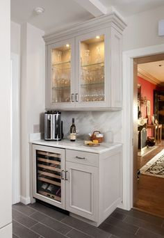dry bar to add onto current kitchen cabinets