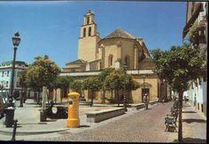 <Córdoba>Plaza de San Pedro. En esta iglesia me bautizaron y como no me pusieron Rafael de primer nombre, me lo pusieron de segundo. Y como aquí se veneran los santos que murieron en tiempo de dominación árabe, añadieron a los dos primeros nombres el 'de los Santos Mártires'.