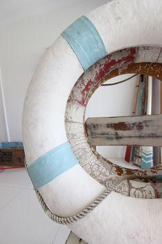 life rings & oars at www.coastalvintage.com.au