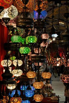 I saw lamps like this in Cairo's historic Muslim Quarter.  #boomer #travel #Egypt