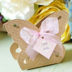 Butterfly Shaped Favor Boxes by Beau-coup    Perfect for a Garden Theme Party