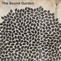 the secret garden by brandon schaefer.- b&w pattern Graphic Design Illustration, Graphic Design Art, Book Design, Cover Design, Garden Illustration, Illustration Artists, Print Design, Secret Garden Book, Cover Art