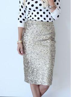 Every girl needs a glitter skirt