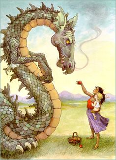 My all time favorite children's illustrator and inspiration behind my own art. One of my favorite works by her.