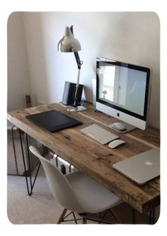 Home Office Decor. Home office and home study decor choices, incorporating strategies for a limited space or room, desk solutions, themes, and shelves. Carve out a work enviroment in the house that you will never mind getting work finished in. 50395057 5 Home Office Decorating Ideas