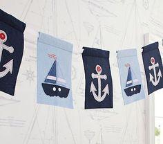 Nautical Sailboat Garland
