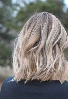 Curly Wavy Medium Short Haircut for Women