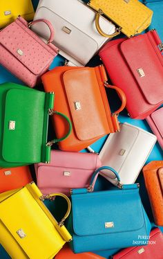 Dolce & Gabbana Sicily Bags | Purely Inspiration