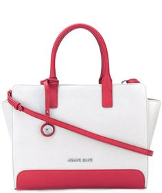 Armani Jeans square tote bag   http://shopstyle.it/l/bPc9