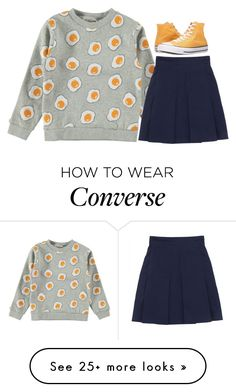 """""""Untitled #1246"""" by samantha-hannum on Polyvore featuring Converse"""