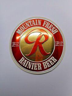 5f2a9248d 37 Best Rainier Beer images in 2012 | Rainier beer, Brewing co, Restore