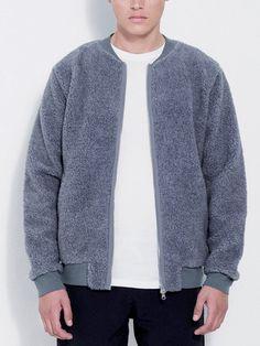 New Arrivals: Rick Sweat Jacket by Soulland   Lightweight sweatshirt jacket in soft unbrushed Italian fleece.