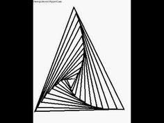 How to draw the illusion triangle. Paradox on a computer.