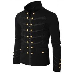Mens Antique Short Jacket Blazer