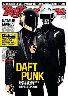 La Rolling Stone  de USA con Daft Punk en la portada