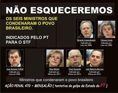 GUAPIMIRIM REAGE BRASIL.: Os ministros que envergonharam o clamor do povo , ...