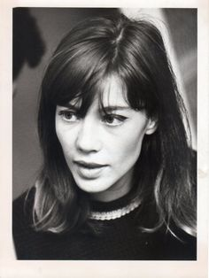 Françoise Hardy.  I like her hair and makeup.  So mod and French and classy.