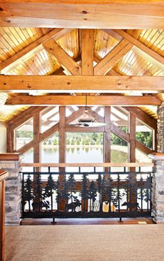 Hybrid Timber Frame Homes Luxury Timber Frame Homes Wisconsin Log