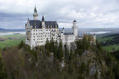 Neuschwanstein Castle - Castles, Palaces and Fortresses