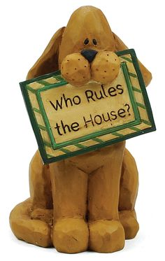 Who Rules the House? Dog  $4.99