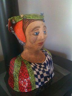Ceramic lady. By Rosy Clark