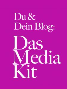 Reiseblogger: Was gehört in euer Mediakit? | Blogpost von #KristineHonig #Blogging #Reiseblogger