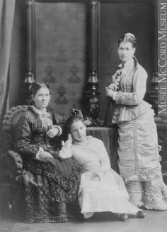 II-41720.1 | Miss M. Finlay's group, Montreal, QC, 1876
