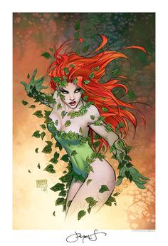 Poison Ivy - by Michael Turner & Peter Steigerwald