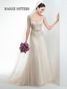 Maggie Bridal by Maggie Sottero Carmen-4MS011  Maggie Sottero Couture Glitz Bridal, Prom, Pageant and Formal Store - Nashville, TN!