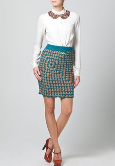 CROCHET FASHION TRENDS exclusive  crochet skirt - made to order via Etsy