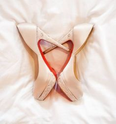 Louboutins #wedding #shoes
