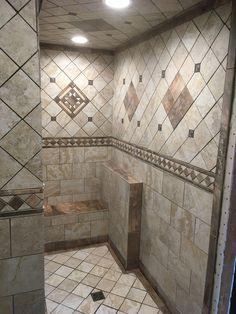 Astounding Shower remodel beige ideas,Corner shower remodel ideas and Small shower remodel with window tips. Bathroom Design Luxury, Bathroom Design Small, Bathroom Interior, Modern Bathroom, Bathroom Furniture, Master Bathroom Shower, Bathroom Showers, Bathroom Wall, Boho Bathroom