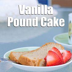 Vanilla Pound Cake Recipe [Paleo, Gluten-Free, Dairy-Free] #paleo # ...