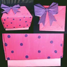 cajita de regalo, origami